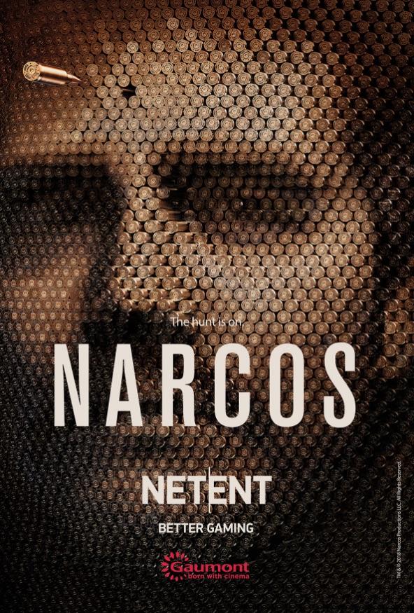 NetEnt Pablo Escobar Narcos spilleautomat banner