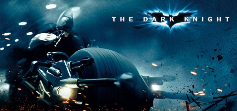 The Dark Knight film baseret spilleautomater banner