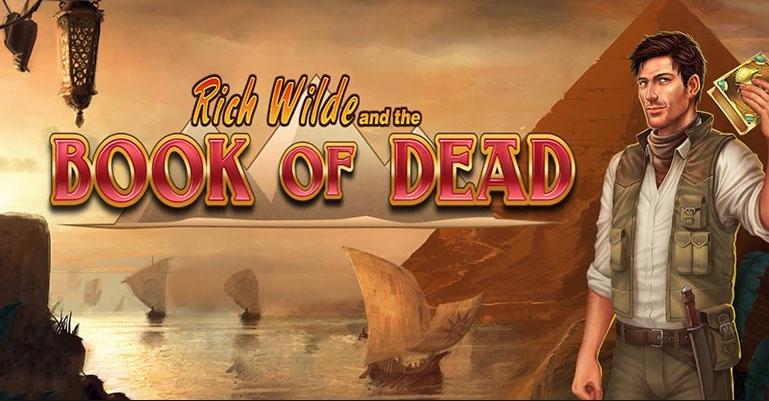Book of Dead spilleautomat