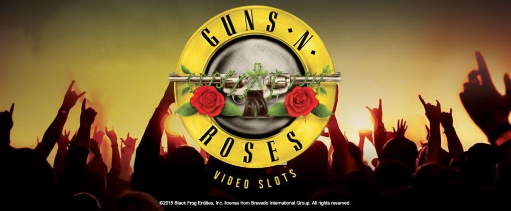 Guns n Roses top 5 rockband spilleautomater