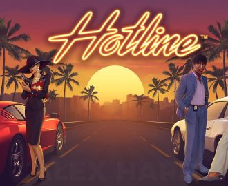 Prøv NetEnts nye Miami Vice-klon, Hotline