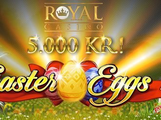 Vind 5.000 kr med Royal Casino Påske Kampagne!