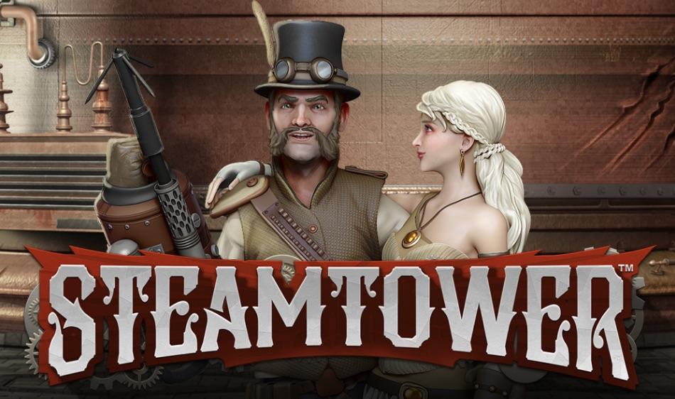 SteamTower spilleautomat banner