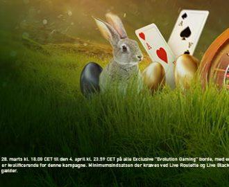 Vær med i årets Påskeudfordring om EUR 50.000