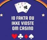 Så meget vandt danskerne på online casino i 2017 (infografik)