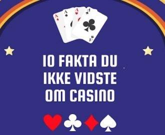 Så meget vandt danskerne på online casino i 2019 (infografik)