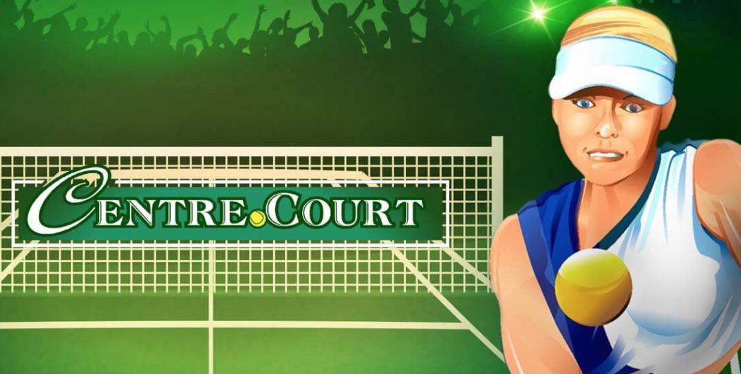 Spilleautomater med sportstema Centre Court med tennis som tema