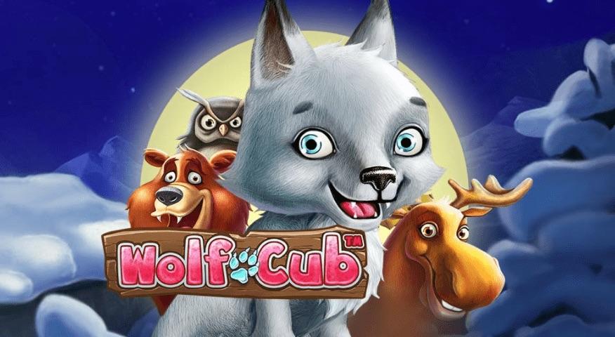 Wolf Cub spilleautomat logo