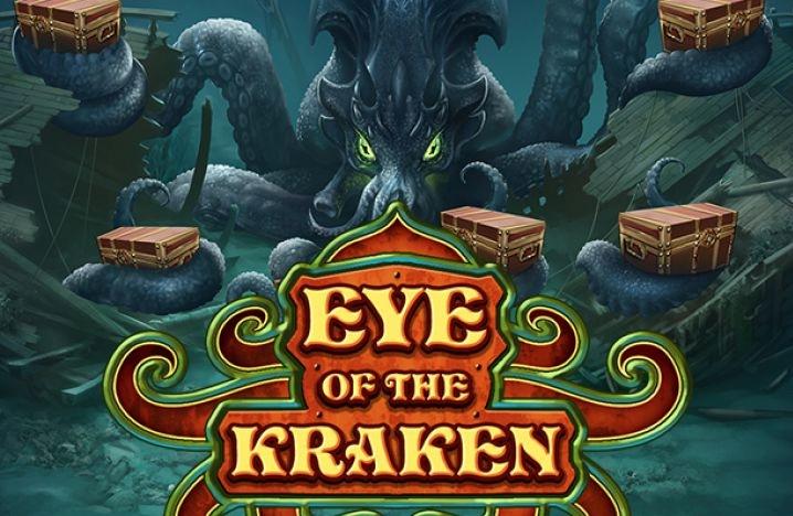 Eye of the Kraken spilleautomat logo