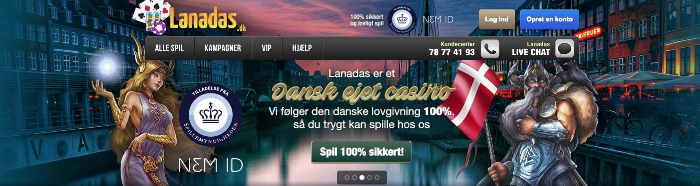 Lanadas casino anmeldelse banner Nyhavn