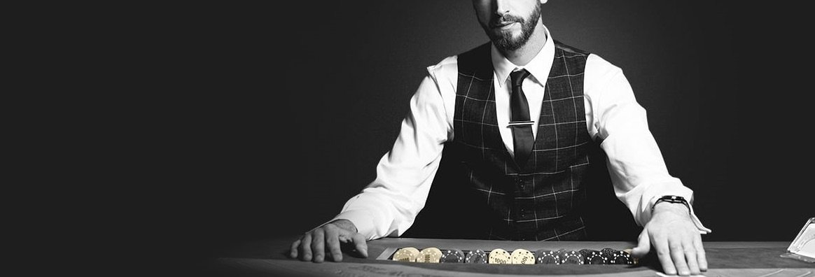 Betfair Live Casino mandlig dealer