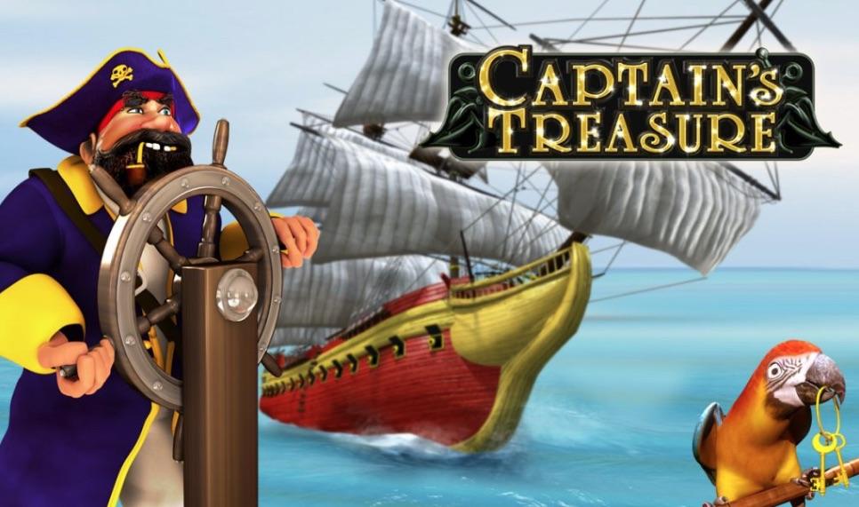 Captains Treasure spilleautomat banner