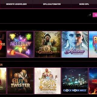 Lucky Niki Casino udvalg af spil