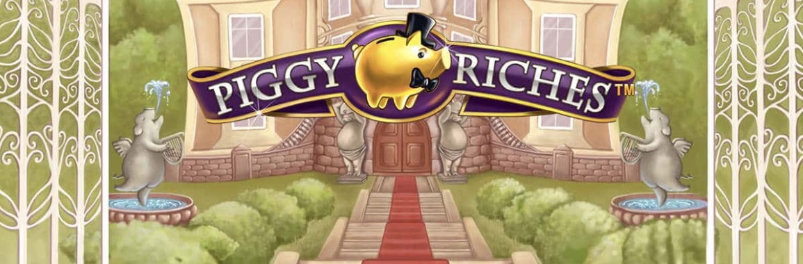 Piggy Riches anmeldelse banner