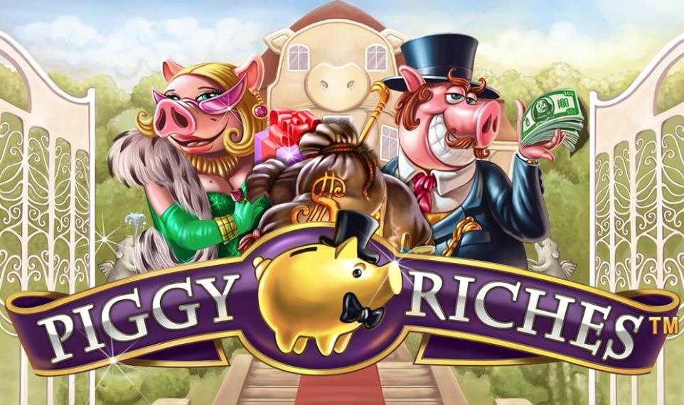 Piggy Riches spilleautomat anmeldelse