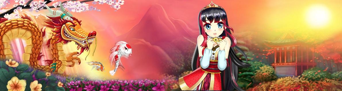 Koi Princess spilleautomat banner
