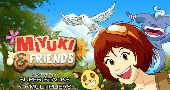 Miyuki and Friends spilleautomat banner