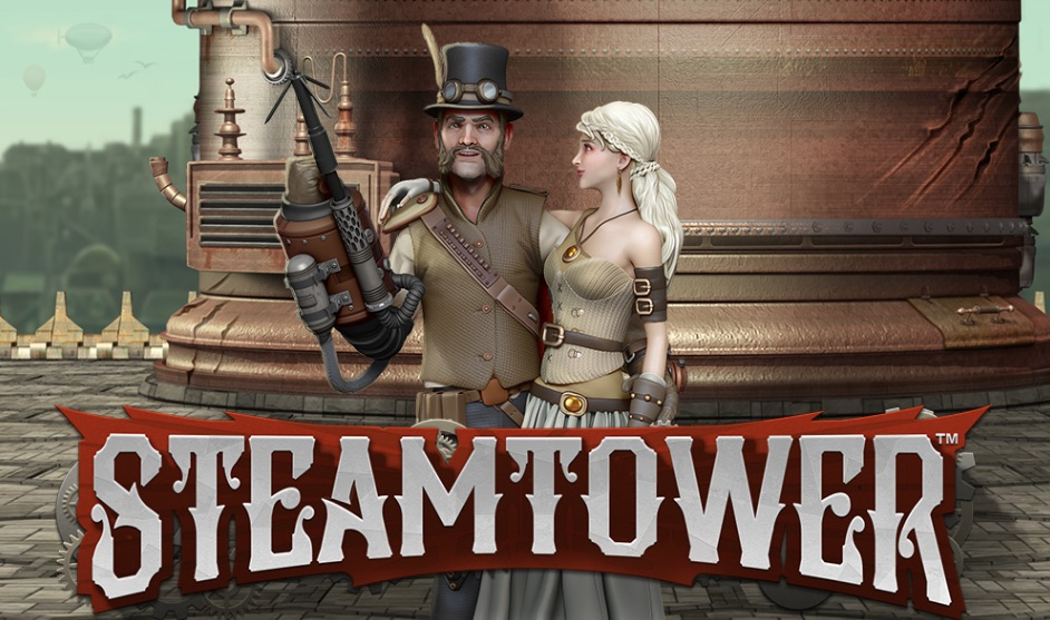 Steam Tower spilleautomat banner