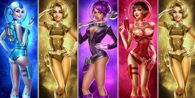 De 5 Astro Babes