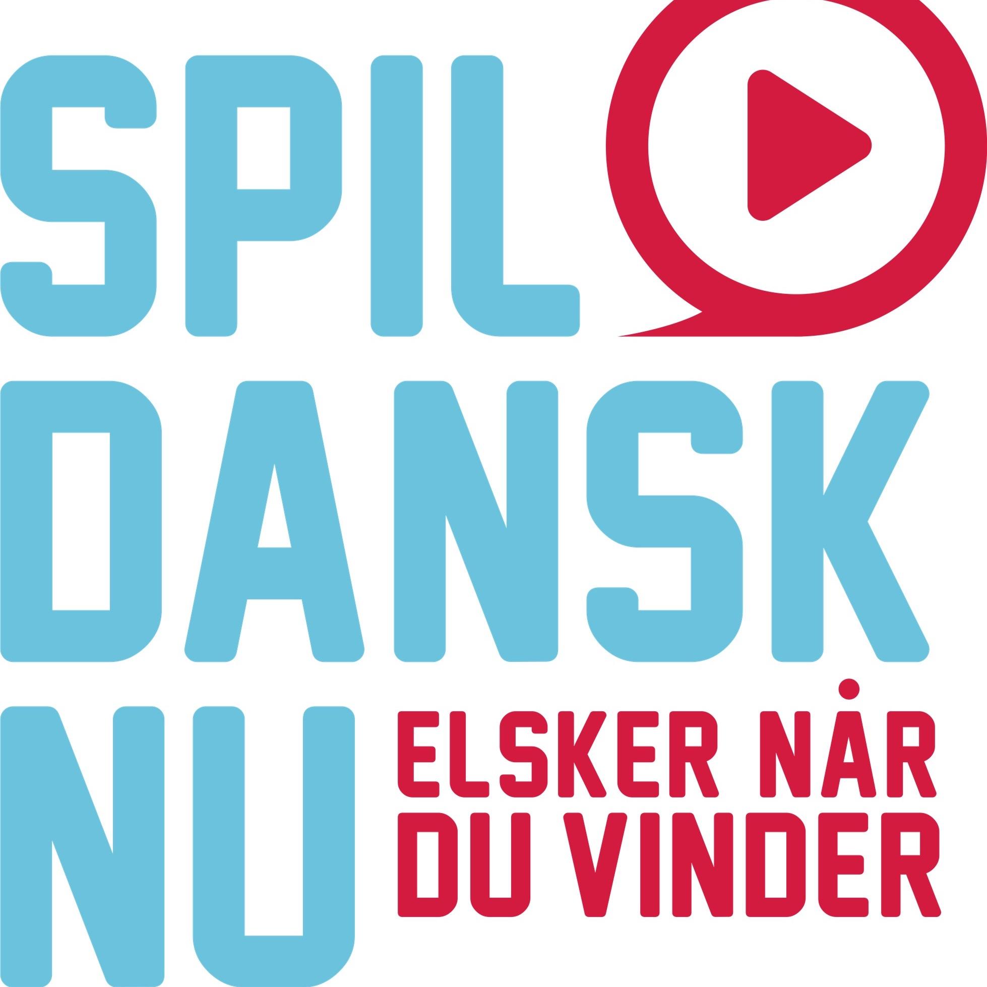 SpilDanskNu hvidt logo