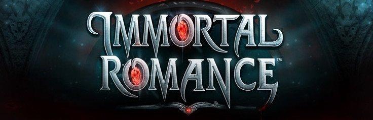 Immortal Romance spilleautomat banner
