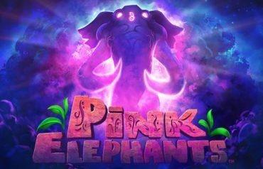 Pink Elephants lyserød elefant logo