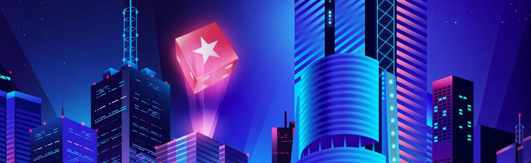 Pokerstars banner med logo