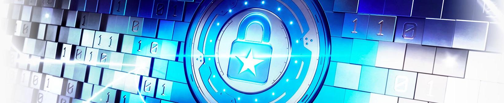 PokerStars banner med lås