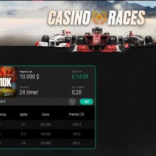 PokerStars Casino Race