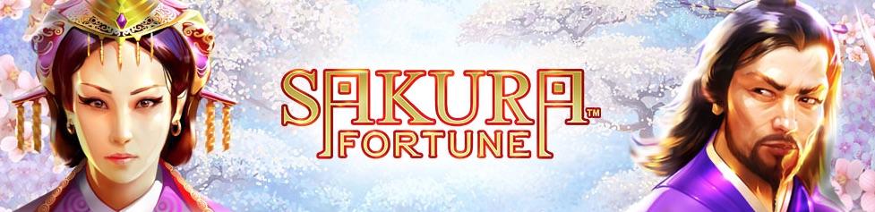Sakura Fortune banner princess wild symbol