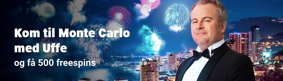 Vind tur til eksklusive Monte Carlo med Uffe Holm!