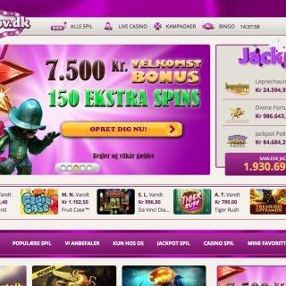 Bingosjov hjemmeside