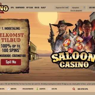 Cozino hjemmeside