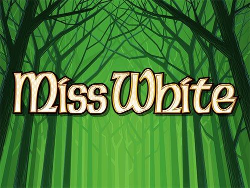 Miss White Grønt Banner med Træer