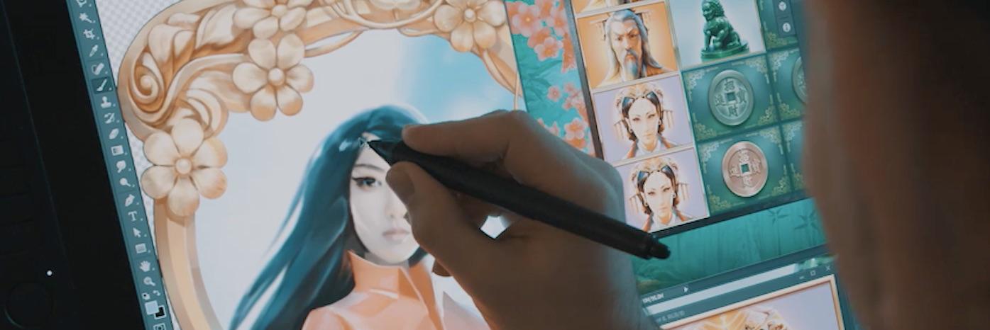 Tegning af Sakura Fortune