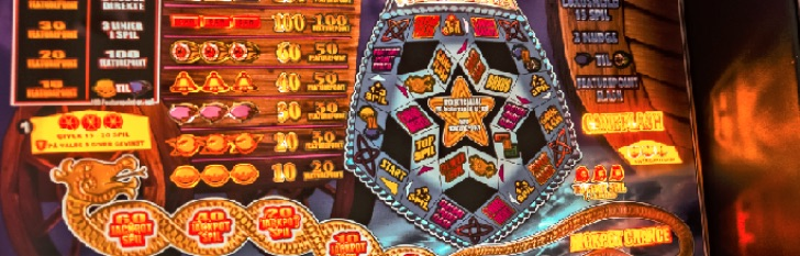 Spillehallen spilleautomat