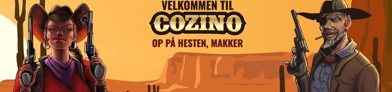 Cozino velkomstbonus banner