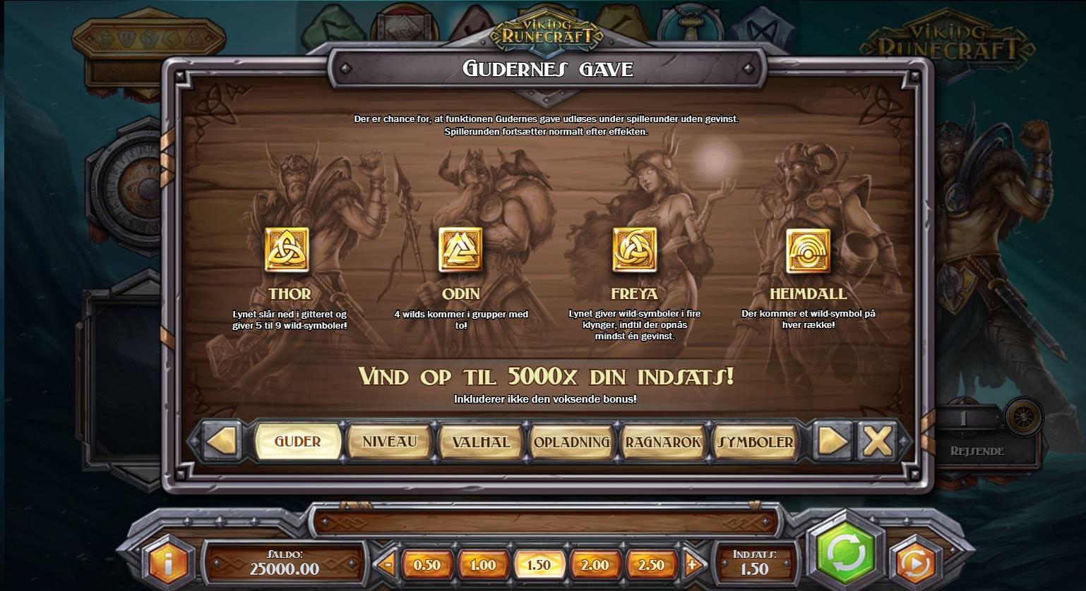 Viking Runecraft Gudernes Gave Feature