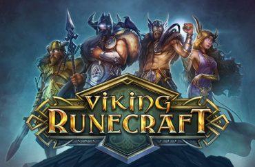 Viking Runecraft Logo med Vikinger