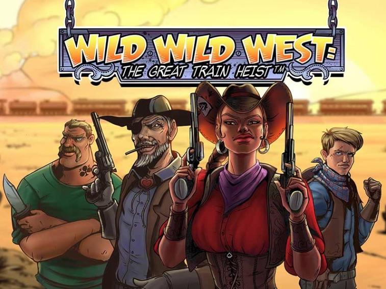 Wild Wild West spilleautomat logo