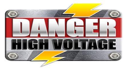 Danger High Voltage spilleautomat