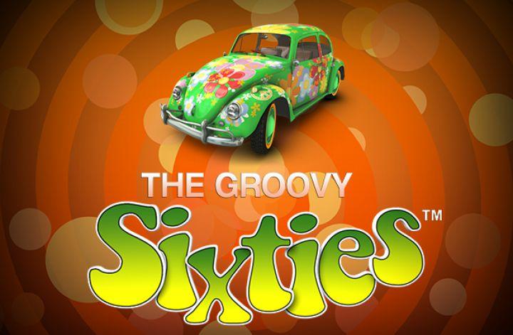 Groovy Sixties Logo Bil og Bogstaver