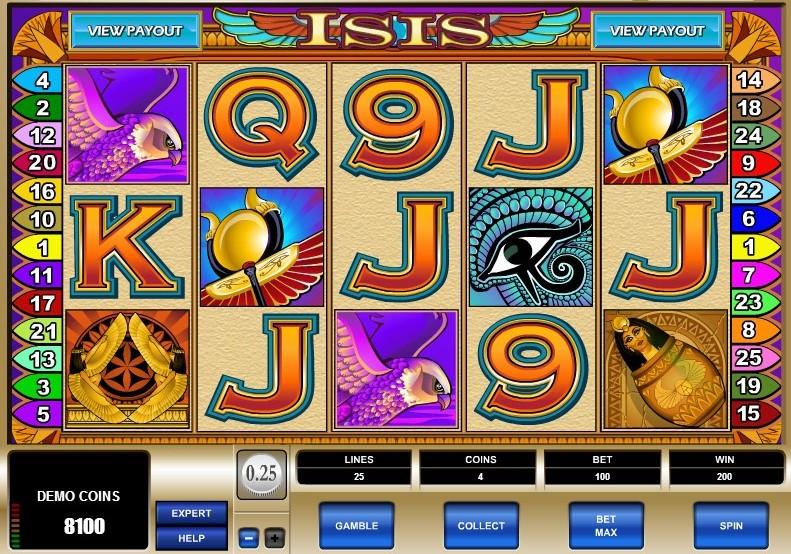 Isis Symboler
