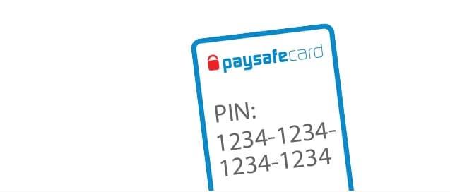 Paysafecard pinkode