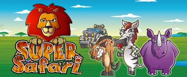 Super Safari slot banner
