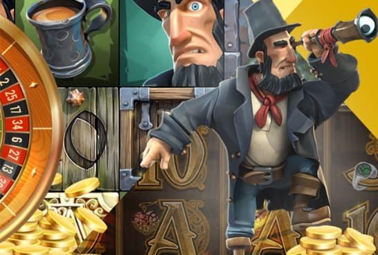 Spilleautomat karakter hos Casino Action