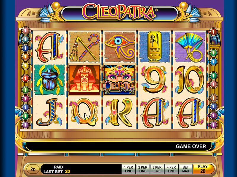 Cleopatra Spilleplade med Symboler