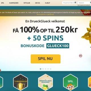 Forside af DrueckGlueck Casino