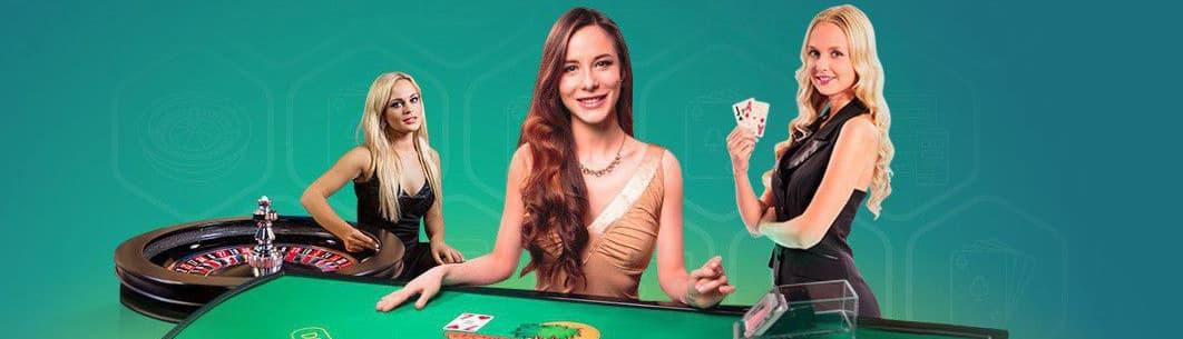 Kvindelige dealere i Live Casino
