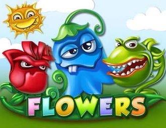 Flowers Logo Blomster og Sol